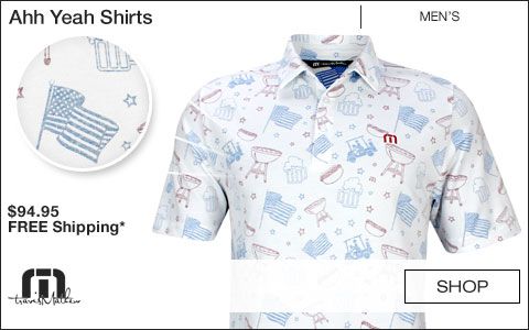 Travis Mathew Ahh Yeah Golf Shirts