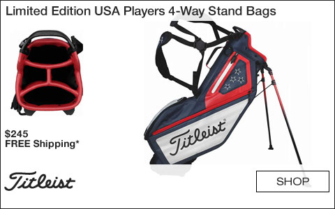 Titleist Limited Edition USA Players 4-Way Stand Golf Bags