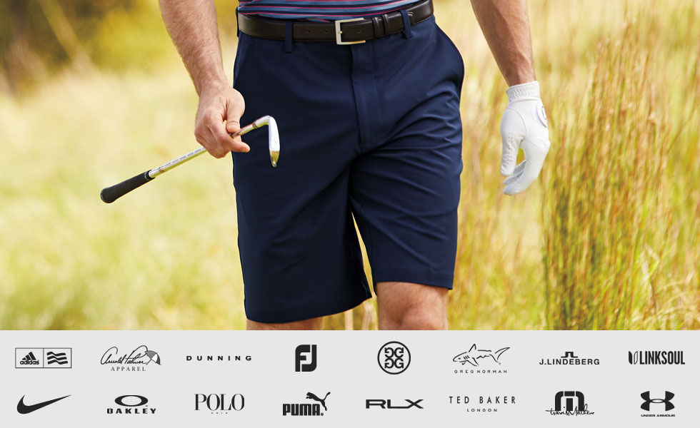 Shop All Men's Golf Bottoms by Size