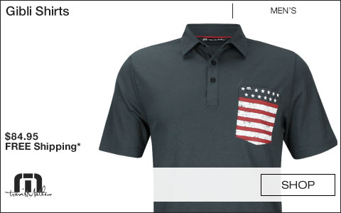 Travis Mathew Gibli Golf Shirts