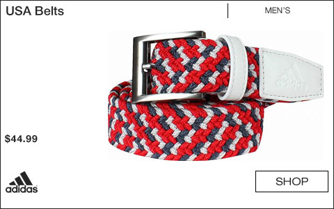 Adidas USA Golf Belts