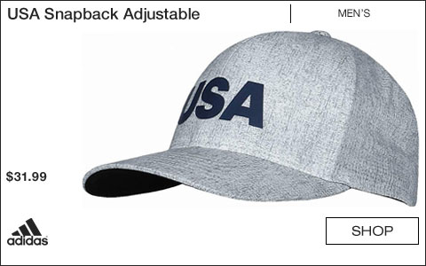 Adidas USA Snapback Adjustable Golf Hats