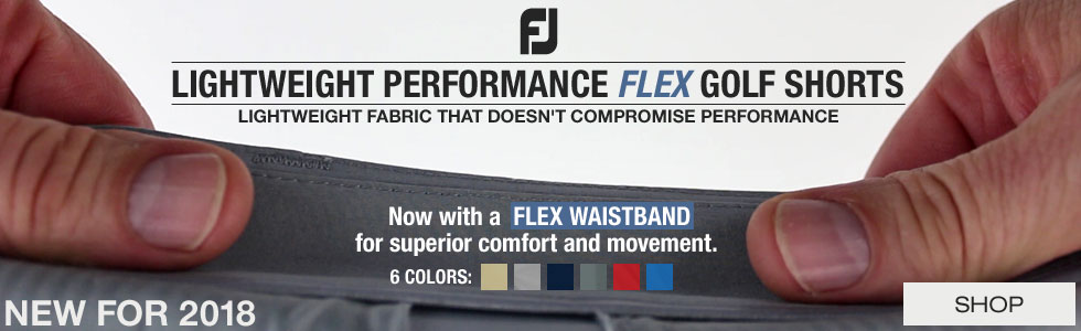 FJ Lightweight Performance Flex Golf Shorts