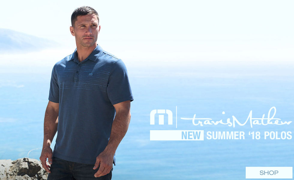 New Summer 2018 Polos from Travis Mathew