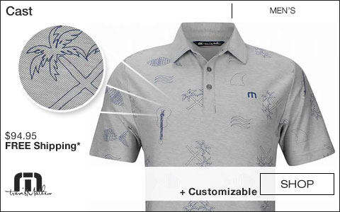 Travis Mathew Cast Golf Shirts