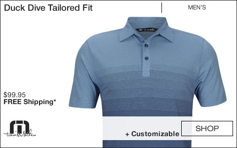 Travis Mathew Duck Dive Tailored Fit Golf Shirts