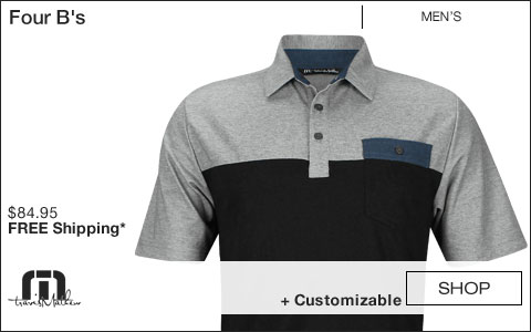 Travis Mathew 	Four B's Golf Shirts