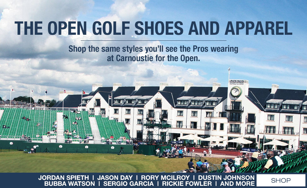 The Open Golf Shoes and Apparel