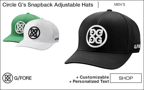 G/Fore Circle G's Snapback Adjustable Golf Hats