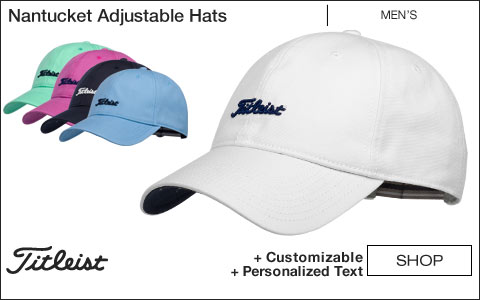 Titleist Nantucket Adjustable Golf Hats
