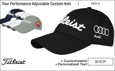 Titleist Tour Performance Adjustable Custom Golf Hats