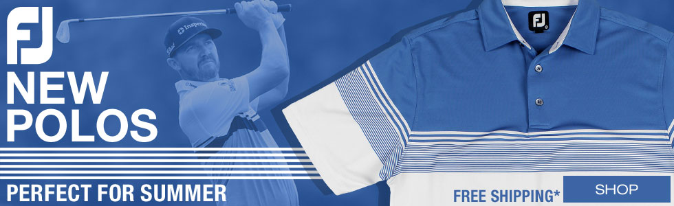 New Summer Polos from FJ Are Now Shipping at Golf Locker