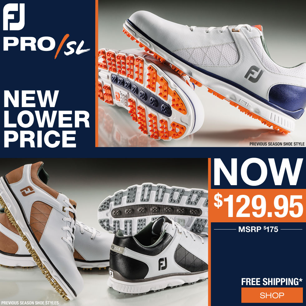 FJ Pro/SL Spikeless Golf Shoes On Sale