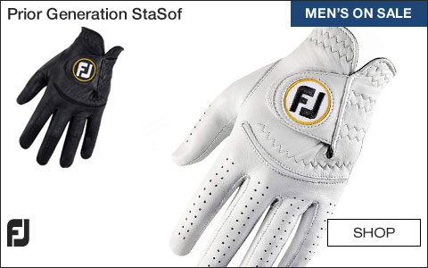 FJ Prior Generation StaSof Golf Gloves - ON SALE