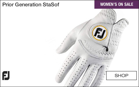 FJ Prior Generation StaSof Women's Golf Gloves - ON SALE