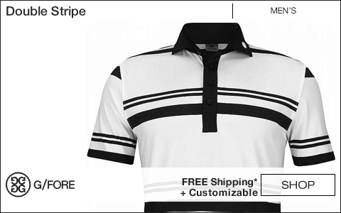 G/Fore Double Stripe Golf Shirts
