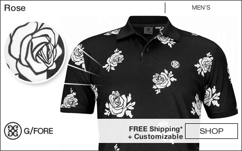 G/Fore Rose Golf Shirts