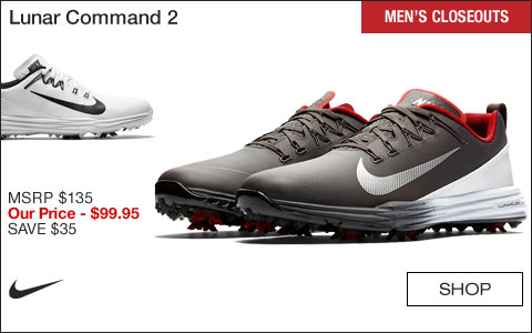 Nike Lunar Command 2 Golf Shoes - CLOSEOUTS