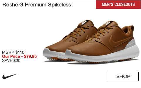 Nike Roshe G Premium Spikeless Golf Shoes - CLOSEOUTS
