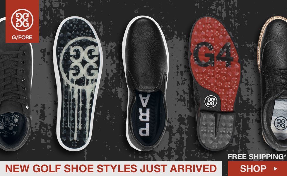 New G/FORE Golf Shoes Now Shipping for Fall