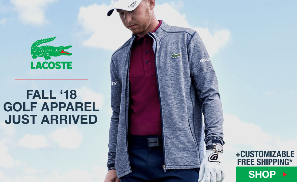 New Fall 2018 Lacoste Golf Apparel - Click to Shop