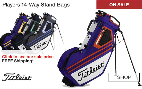 Titleist Players 14-Way Stand Golf Bags - ON SALE