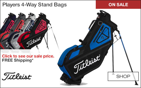 Titleist Players 4-Way Stand Golf Bags - ON SALE
