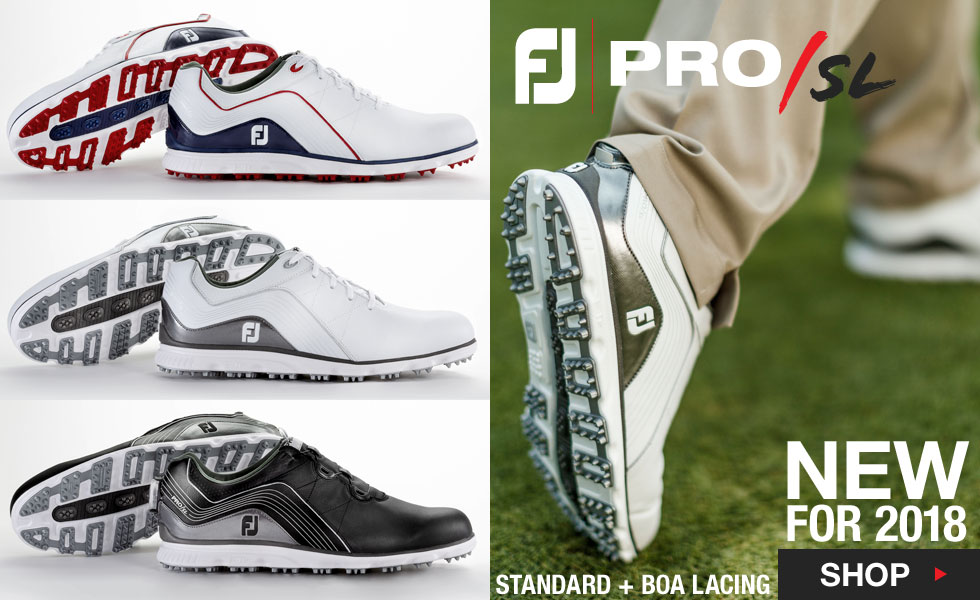 2018 FJ Pro/SL Spikeless Shoes Now Available