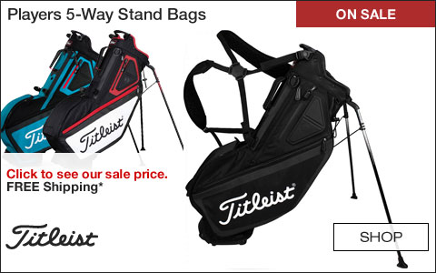 Titleist Players 5-Way Stand Golf Bags - ON SALE