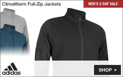 Adidas ClimaWarm Full-Zip Golf Jackets - Two-Day Sale