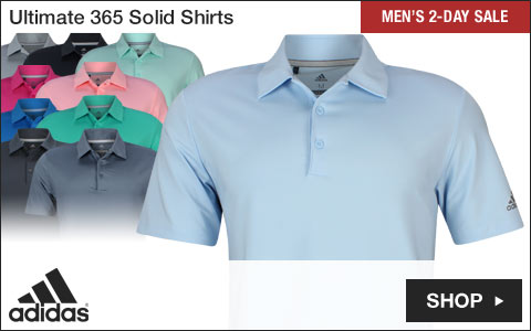 Adidas Ultimate 365 Solid Golf Shirts - Two-Day Sale