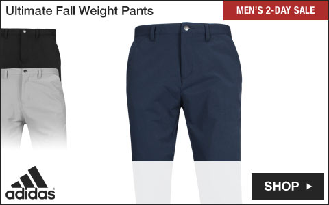 Adidas Ultimate Fall Weight Golf Pants - Two-Day Sale