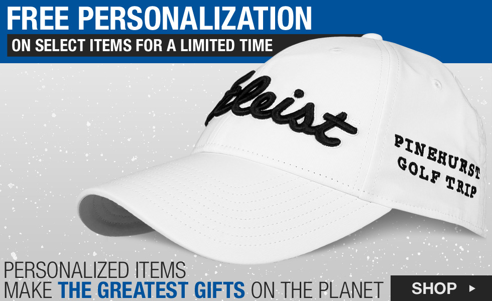 Free Personalization on Select Accessories for the Holidays