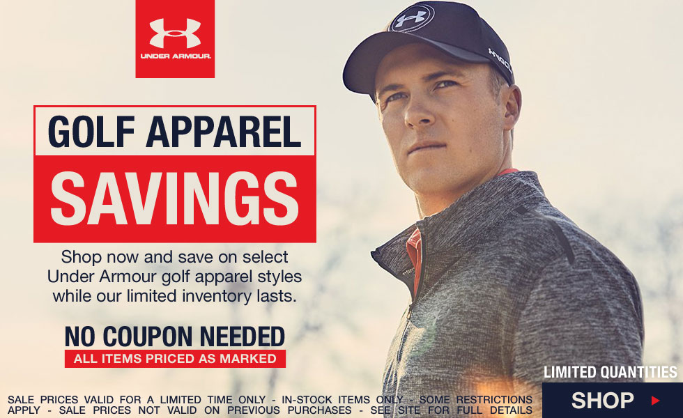 Under Armour Golf Apparel Savings