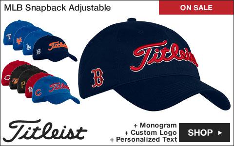 Titleist Major League Baseball Snapback Adjustable Golf Hats - ON SALE 7e8265836fb