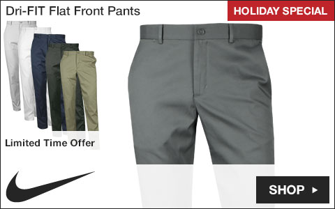 Nike Dri-FIT Flat Front Golf Pants - Holiday Special