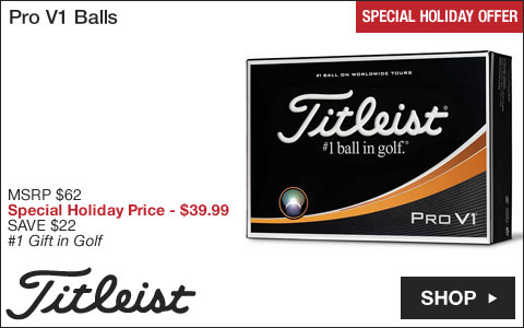 Titleist Pro V1 Golf Balls - Special Holiday Offer