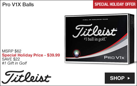 Titleist Pro V1X Golf Balls - Special Holiday Offer