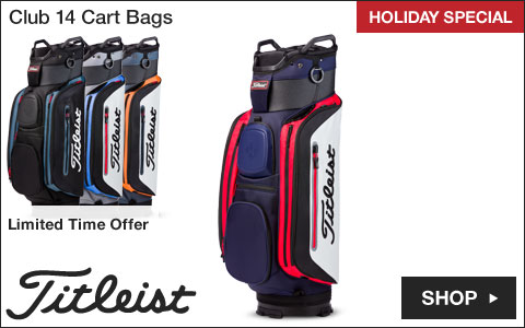 Titleist Club 14 Cart Golf Bags - HOLIDAY SPECIAL