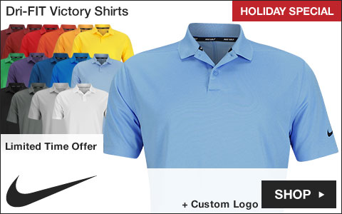 Nike Dri-FIT Victory Golf Shirts - HOLIDAY SPECIAL