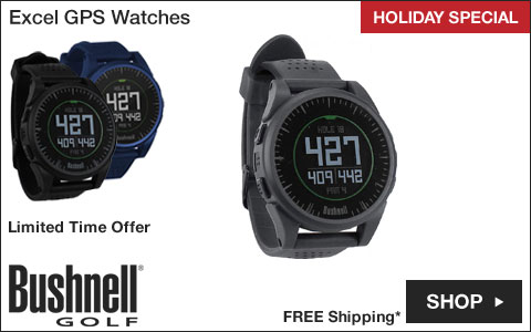 Bushnell Excel GPS Golf Watches - HOLIDAY SPECIAL