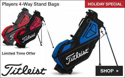 Titleist Players 4-Way Stand Golf Bags - HOLIDAY SPECIAL