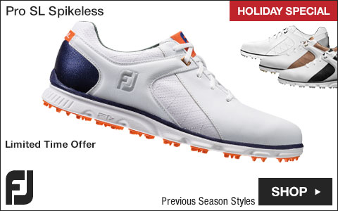 FJ Pro SL Spikeless Golf Shoes - Previous Season Style - HOLIDAY SPECIAL