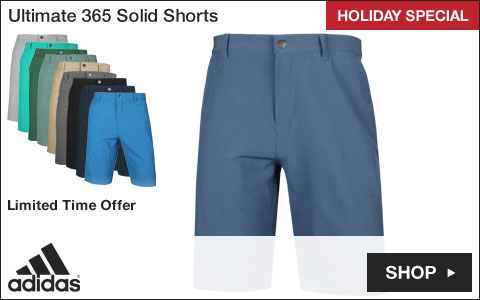 Adidas Ultimate 365 Solid Golf Shorts - CYBER MONDAY SPECIAL