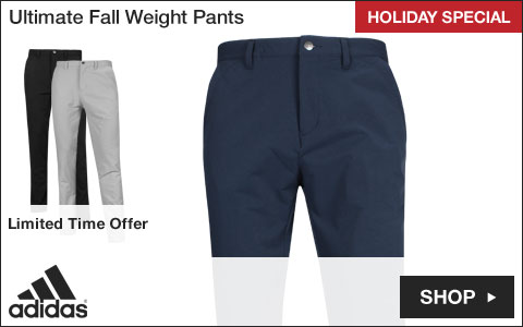 Adidas Ultimate Fall Weight Golf Pants - HOLIDAY SPECIAL