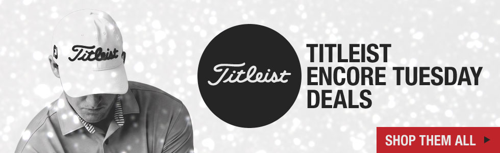 Shop All Titleist Deals at Golf Locker