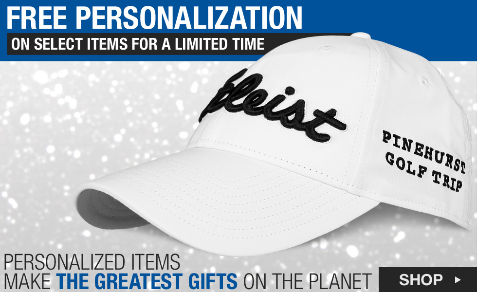 Free Personalization for the Holidays at Golf Locker