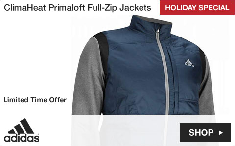 Adidas ClimaHeat Primaloft Full-Zip Golf Jackets - HOLIDAY SPECIAL