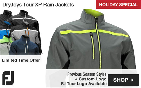 FJ DryJoys Tour XP Golf Rain Jackets - Previous Season Style - HOLIDAY SPECIAL