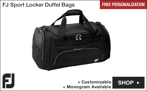 FJ Sport Locker Golf Duffel Bags - Free Personalization
